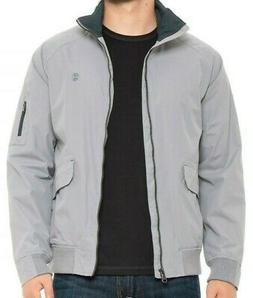 IZOD Gray Lightweight Zip Jacket - Men's Size X-Large BRAND