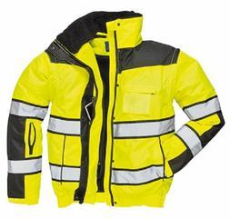 hi vis classic bomber jacket size s