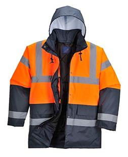 hi vis contrast traffic jacket