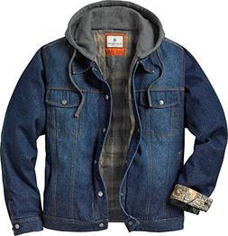 Legendary Whitetails Men's Hideout Denim Hooded Jacket Denim