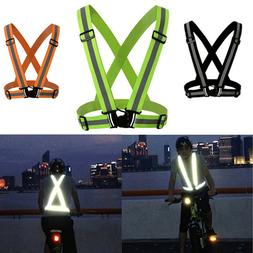 High Visibility Reflective Vest Unisex Outdoor Running Cycli