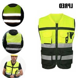 High Visibility Safety Vest Reflective Driving <font><b>Jack