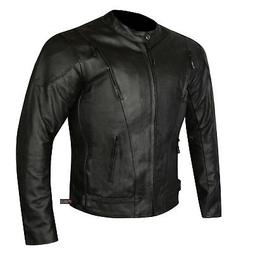 HIGHLY VENTILATED MOTORCYCLE LEATHER CRUISER ARMOR TOURING J