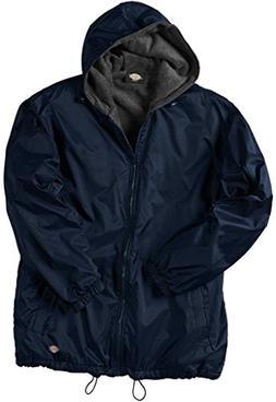 Dickies Big Men's Hooded Nylon Zip Jacket 5XL Dark Navy #953