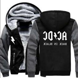 Hot Fashion The ACDC Hoodie Full Zipper Coat Winter Casual J