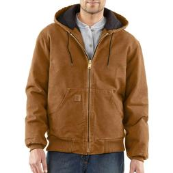 Carhartt  J130 Sandstone Washed Duck Active Jacket  $139