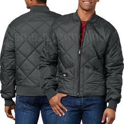 Dickies Jacket Mens Diamond Quilted Nylon Jackets 61242 knit