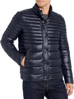 Kenneth Cole Men's Down Alternative Navy Coat Jacket Sz. Med