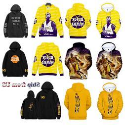Kobe Bryant Black Mamba Hoodie Sport Sweater Sweatshirt Pull