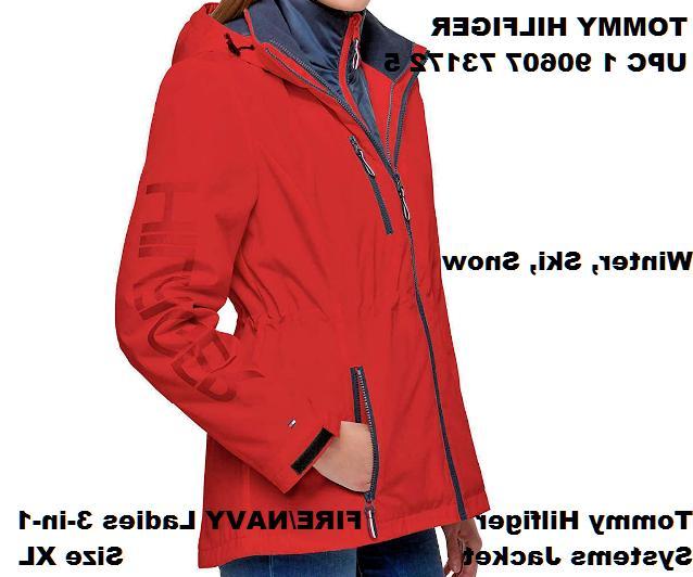 Tommy Ladies 3-in-1 Size XL NWT Winter, Ski