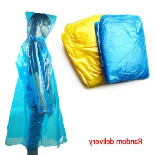 20*Disposable Emergency Rain Camping w/ Hood