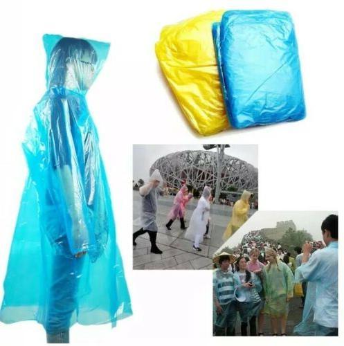 20 disposable adult emergency waterproof rain coat