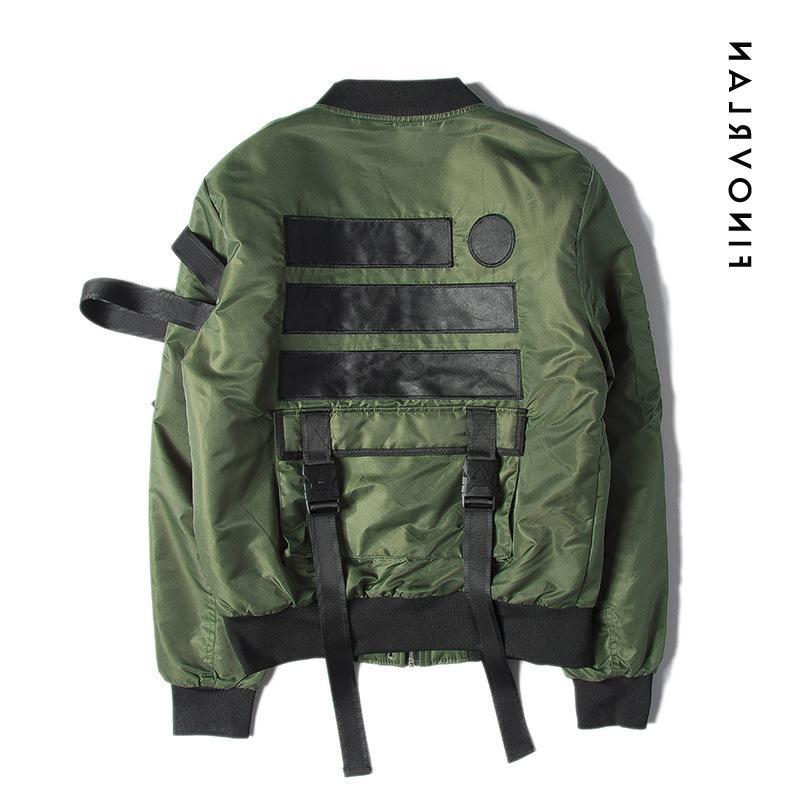 2018 High winter <font><b>jacket</b></font> motorcycle aviator pilot bomber <font><b>jacket</b></font> Streetwear