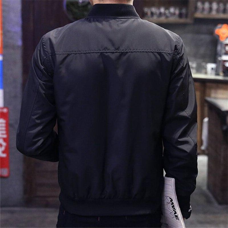2019 Baseball <font><b>Jacket</b></font> Men Spring Fashion Slim Zipper Overcoat Mens Thin <font><b>Jackets</b></font>
