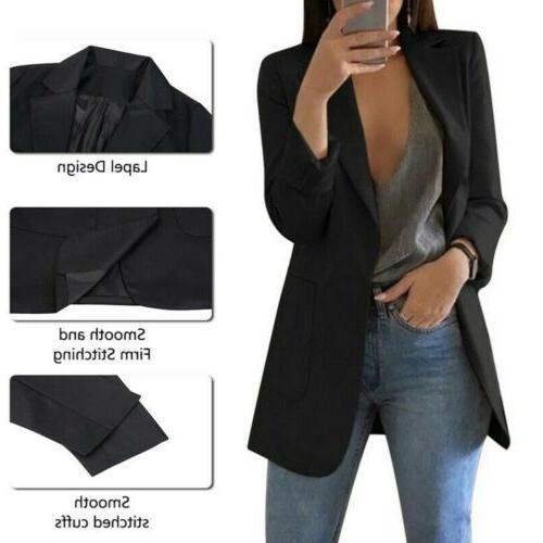 2019Fashion Casual Business Blazer Suit Jacket Outwear S-5XL