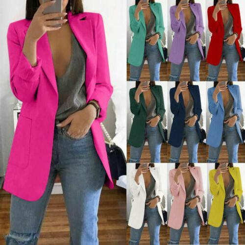 2019 fashion women casual slim business blazer
