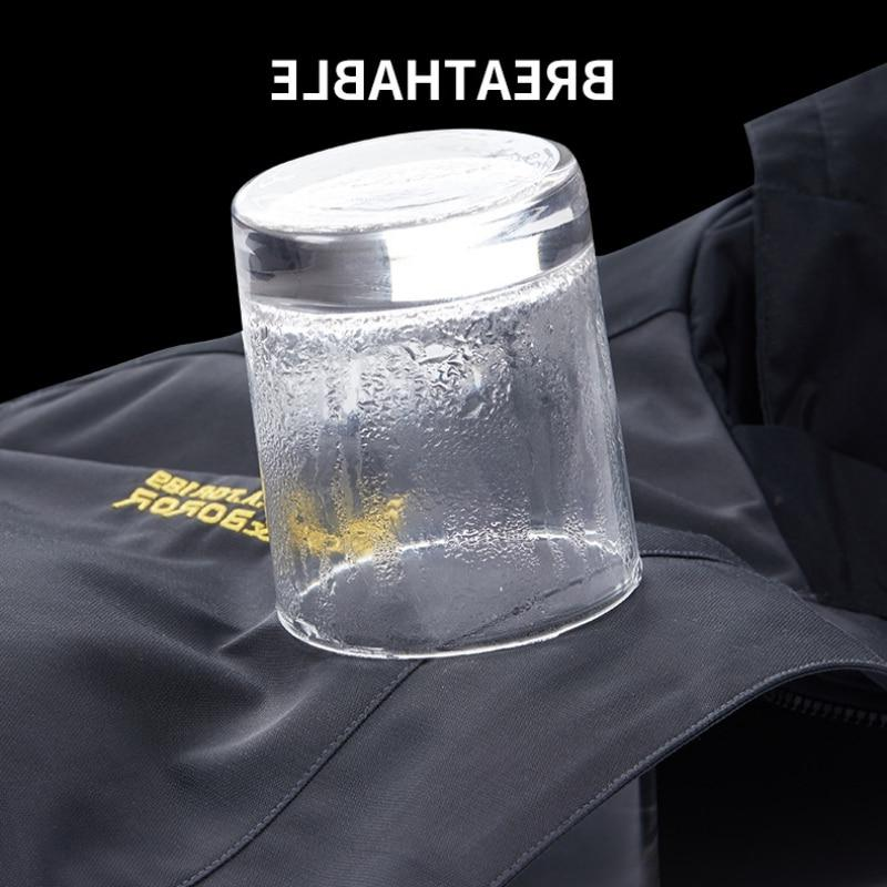 2019 <font><b>3</b></font> Windbreaker Trekking <font><b>Jacket</b></font> Liner Hunting Motorcycle Coat