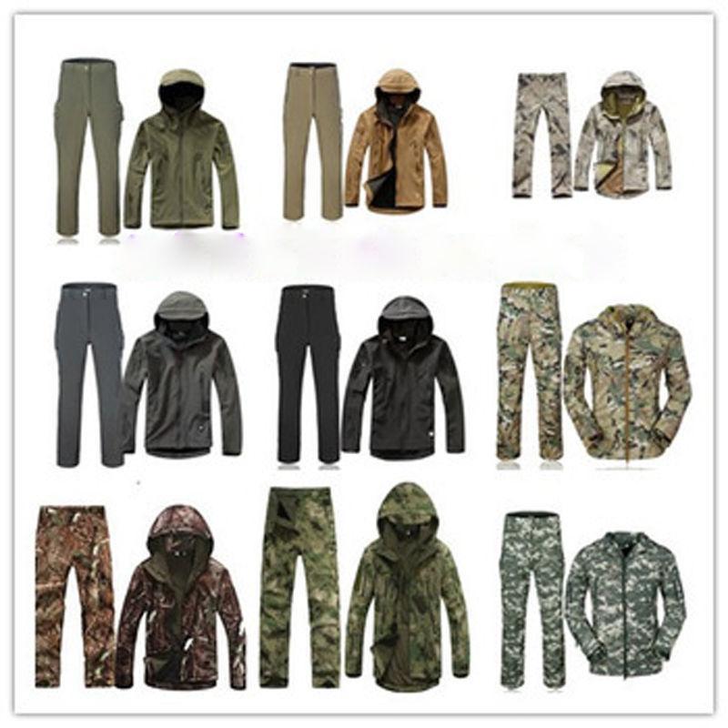 2PCS Winter Hunting +pants Waterproof