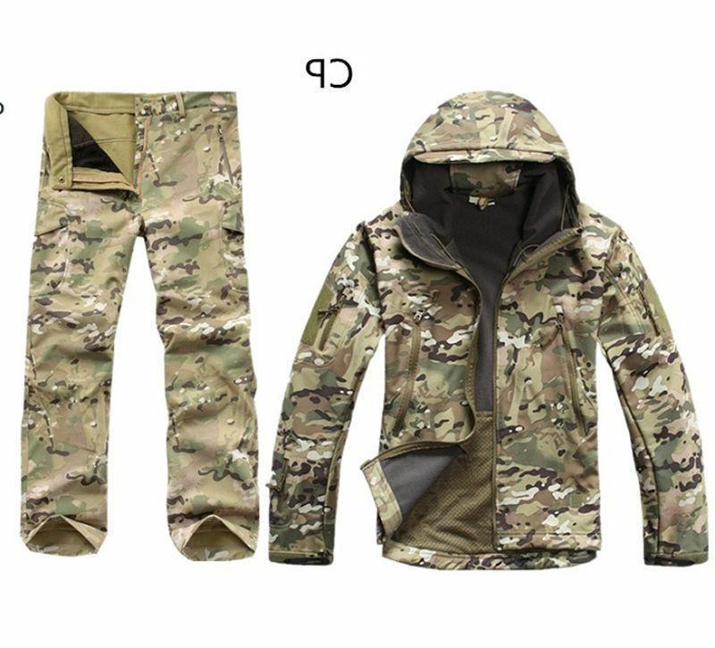 2PCS New Winter Hunting Mens +pants