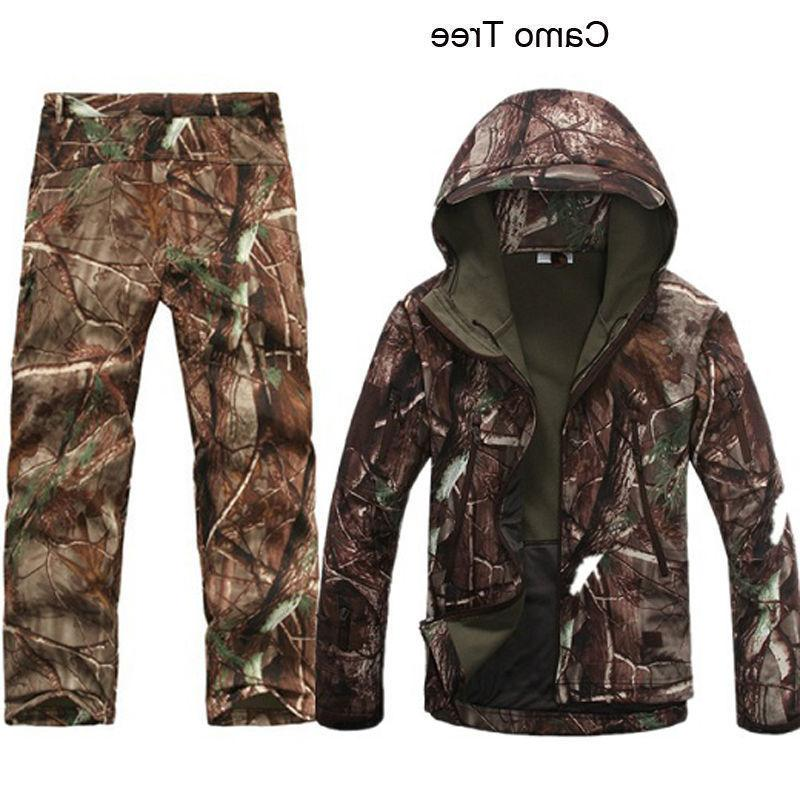 2PCS Outdoor Winter Hunting Mens +pants
