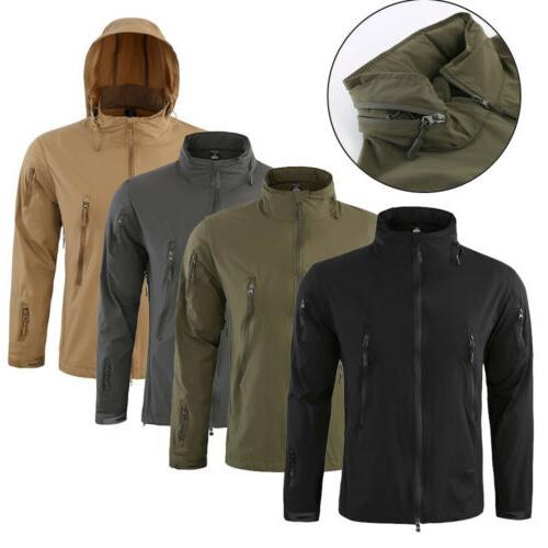 3 in1 Tactical Soft Coat Army Windbreaker