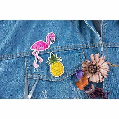 30-Piece Iron/Sew Assorted Applique Patches DIY Hats Jackets Shirts