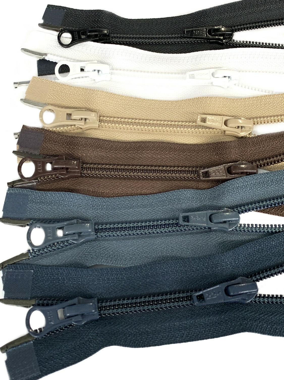 36 jacket zipper 5 nylon coil two