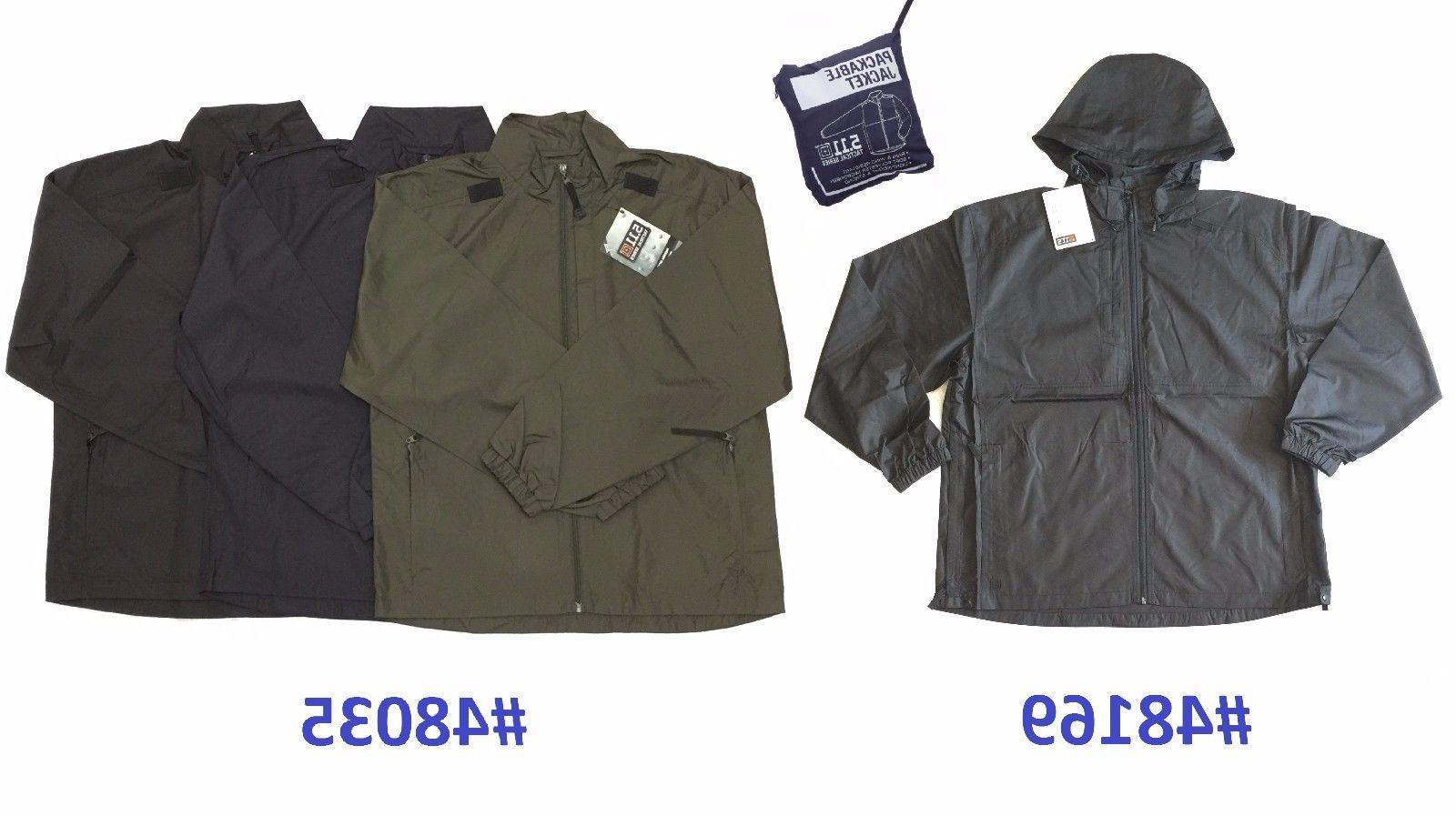 5 11 tactical packable operator jacket rain