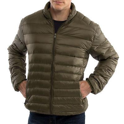 Light Mens Puffer Coat Parka