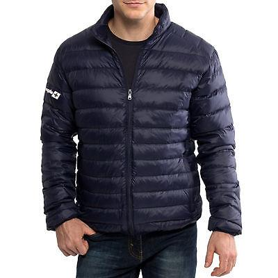 Alpine Swiss Niko Light Jacket Puffer Bubble Coat Warm