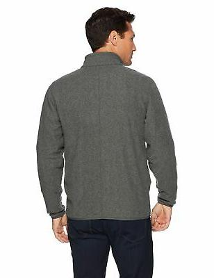Amazon Full-Zip Polar Jacket Charcoal Heather Large