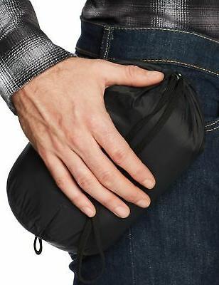 Amazon Lightweight Water-Resistant Packable Black
