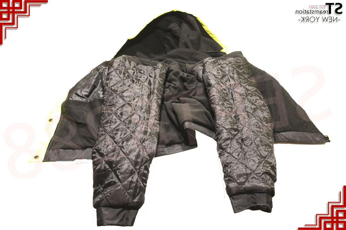 Hi-Vis Insulated Reflective Jacket Work Fleece