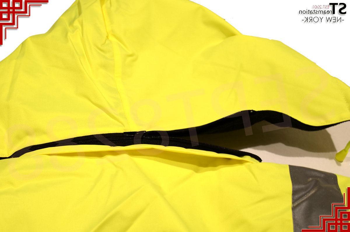 Hi-Vis Reflective Jacket Coat Work Fleece