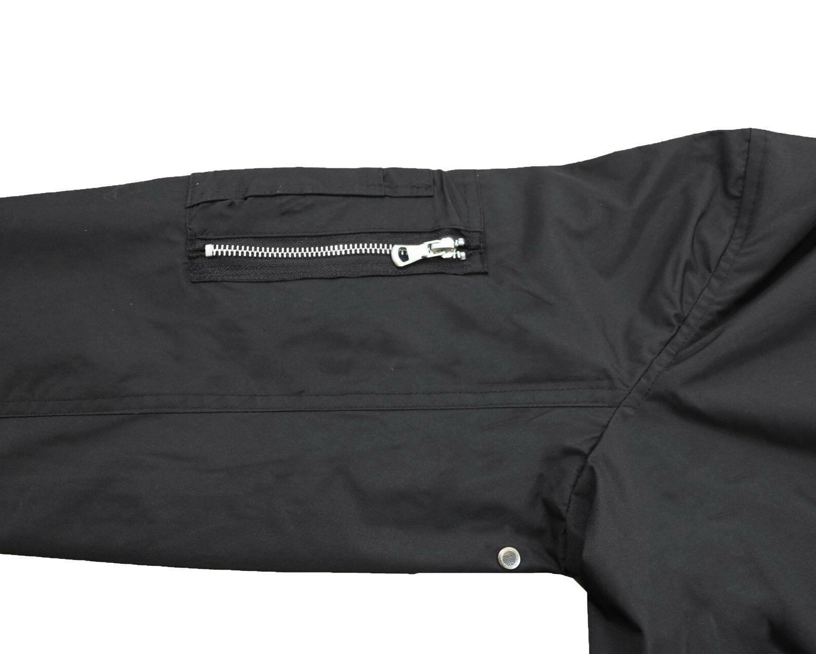 Mens Lightweight MA-1 Flight Jacket Warm Polyester