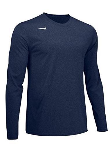 Nike Mens Longsleeve Legend - Navy - Large