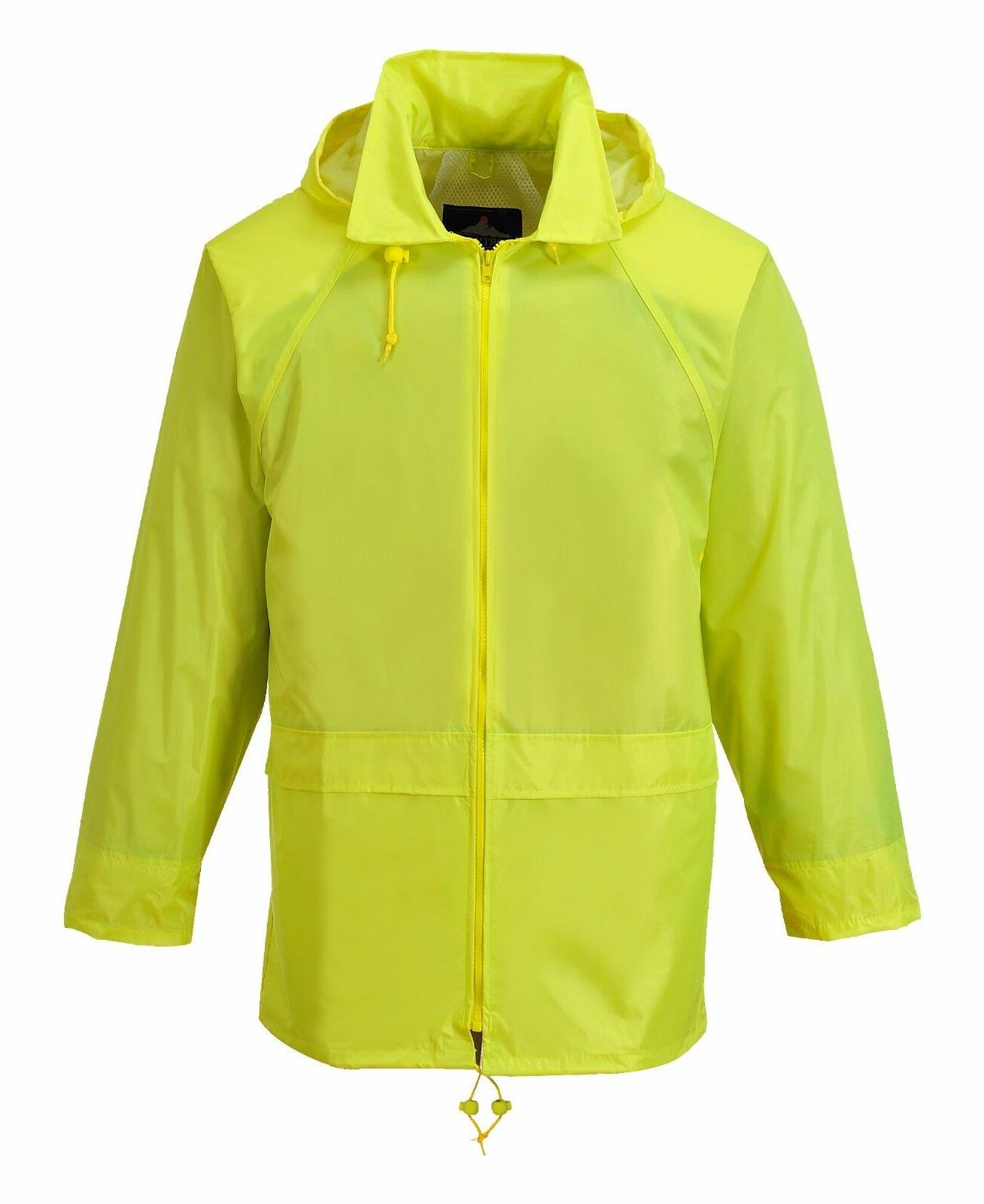 Portwest Jacket, Waterproof Outdoor with Hood
