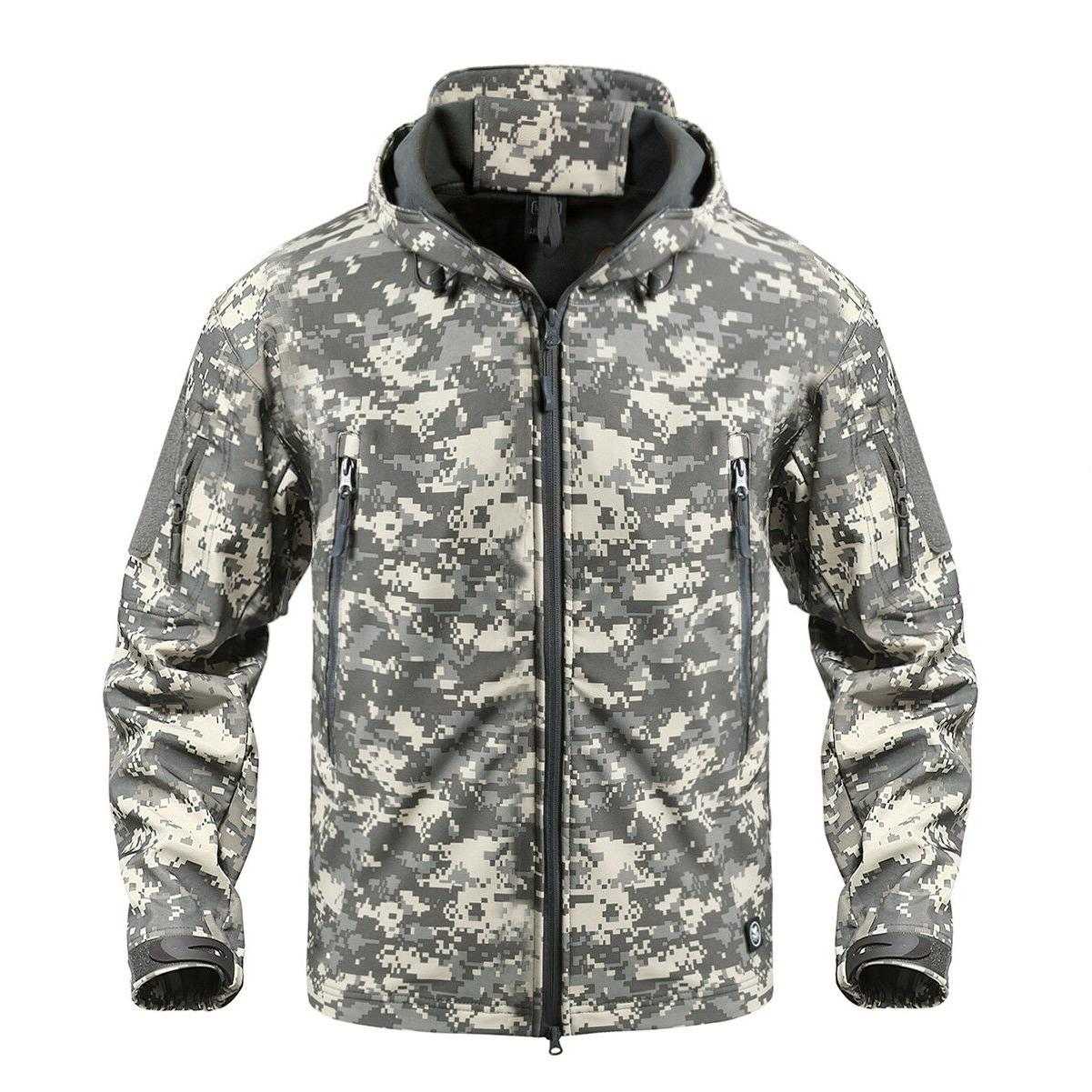 TACVASEN Jackets Coats Expedition Tactical