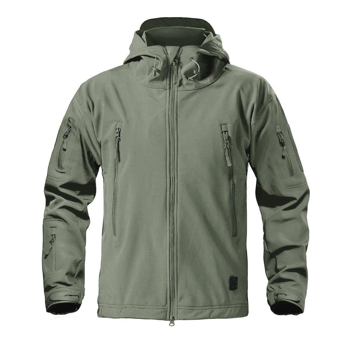 TACVASEN Jackets Coats Safari Tactical