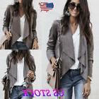 US Fashion Autumn Women's OL Work Clothing Coat Jacket Ladie