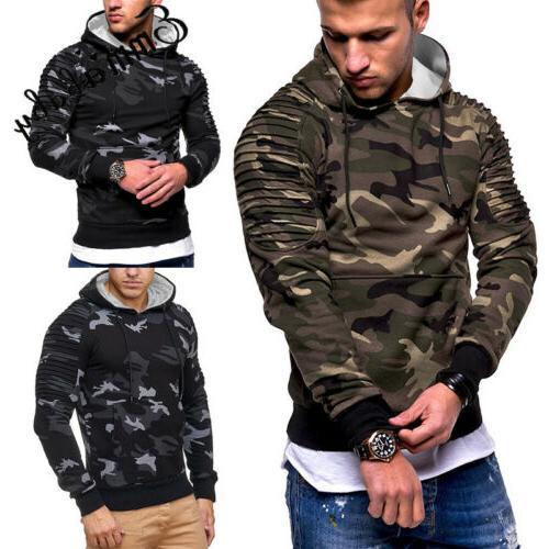 USA Hoodie Warm Hooded Coat Outwear
