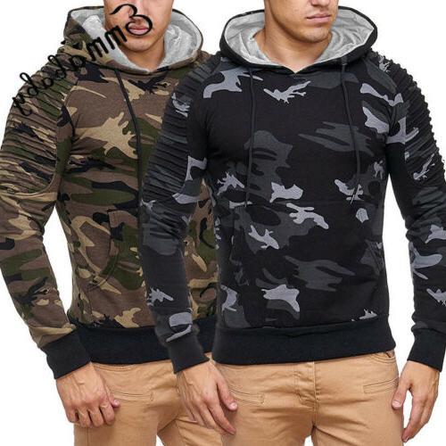 USA Winter Hoodie Warm Sweatshirt Coat Outwear
