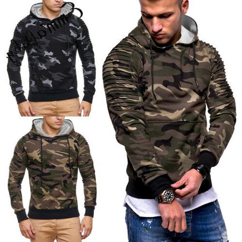 USA Hoodie Warm Sweatshirt Coat Sweater