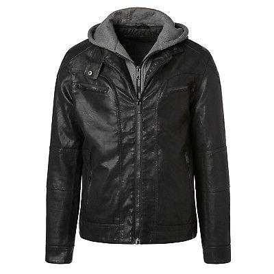 alta milj120 men s faux leather moto