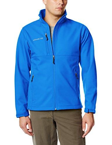 ascender softshell front zip jacket