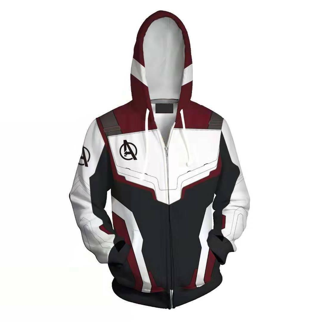 Avengers Endgame Advanced Tech Hoodies Sweater Jacket Coat