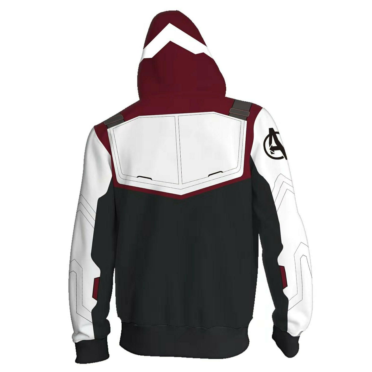 Avengers Endgame Tech Sweatshirts Sweater Jacket Coat
