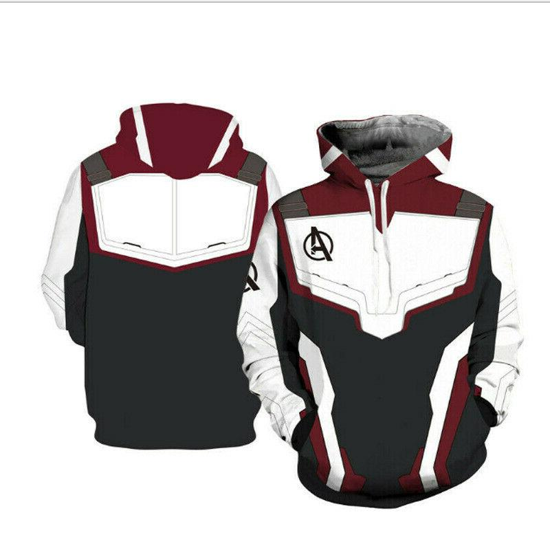 Avengers Endgame Tech Hoodies Sweater Jacket Coat
