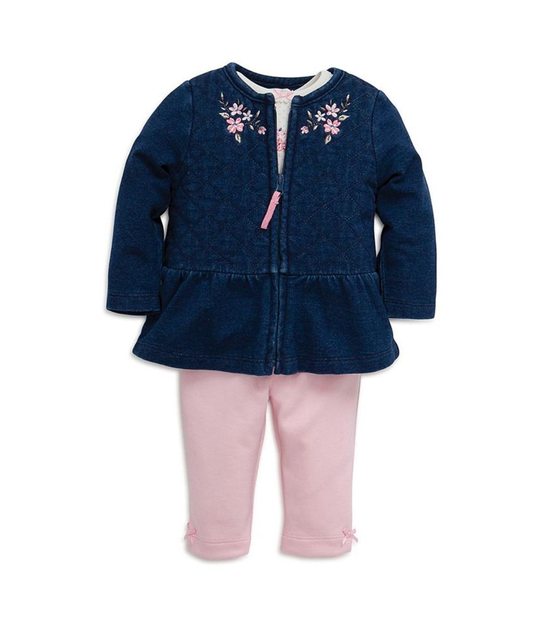Little 3-Piece Set Jacket, 12M