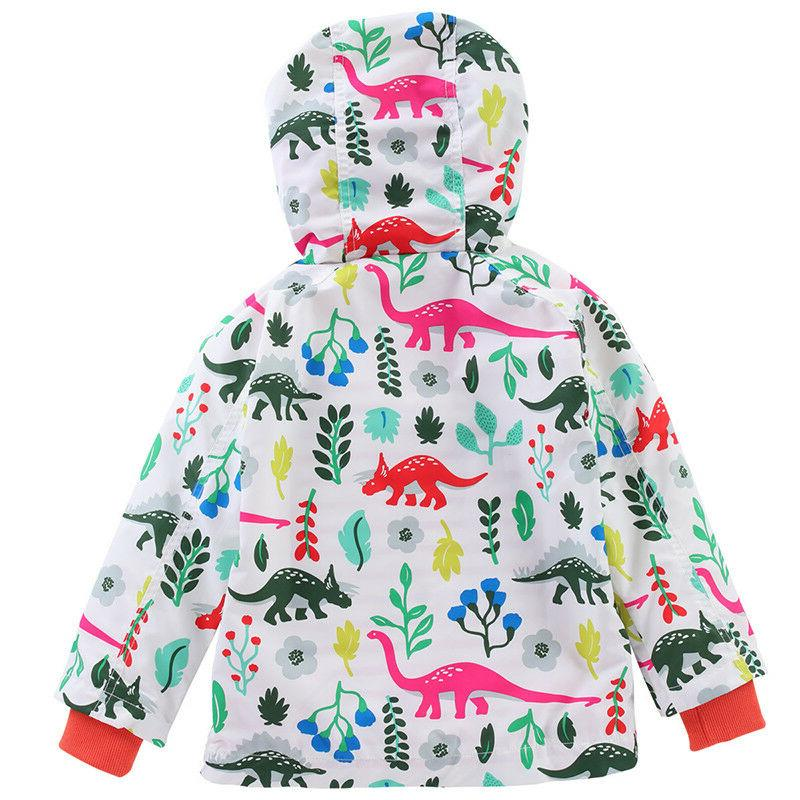 Kids Waterproof Jacket Raincoat Windbreaker
